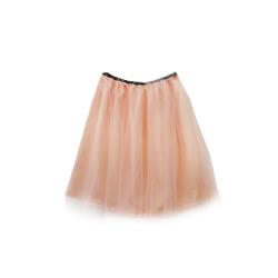 Tiulowa spódnica Brzoskwinia